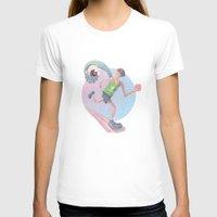 runner T-shirts featuring Runner by J.M. Benga