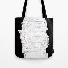Black, White & White Tote Bag