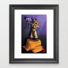 Baby Thor Framed Art Print