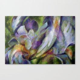 L'iris-roi Canvas Print