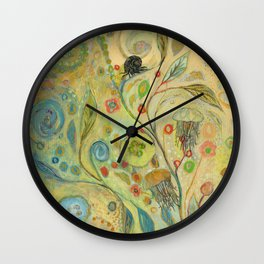 Embracing the Journey Wall Clock