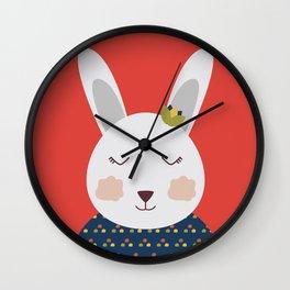 Romina Rabbit Wall Clock