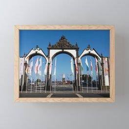 Ponta Delgada Framed Mini Art Print