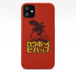001b Cowboy bebop Red iPhone Case