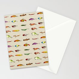 Lures Stationery Cards
