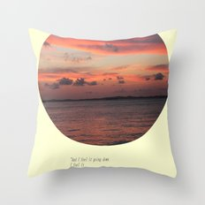 The Sun Shines On Everything Throw Pillow