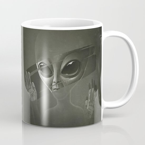 Alien Mug By Dr Lukas Brezak Society6