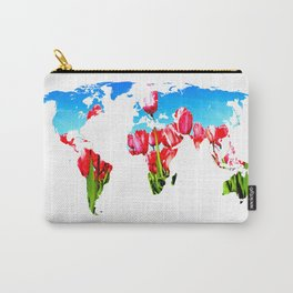 World of Tulips Carry-All Pouch