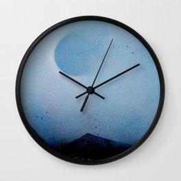 Sunblocked Wall Clock