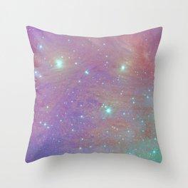 Cotton Candy Pleiades Throw Pillow