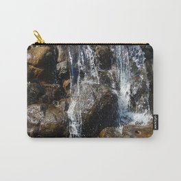 Waterfall in the garden and water fountains Carry-All Pouch