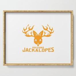 Arizona Jackalopes Serving Tray