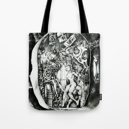 Concentric Sub-Levels Of Reality Tote Bag