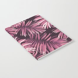 Rose palm leaves Notebook