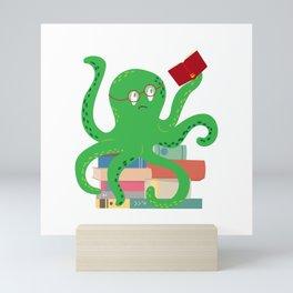 Geek a pus Mini Art Print