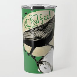 Crows Love CAW-FEE Travel Mug