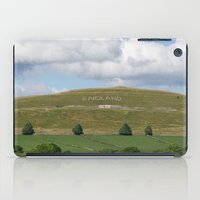 england iPad Cases featuring England by PICSL8