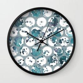 Saw blades Wall Clock