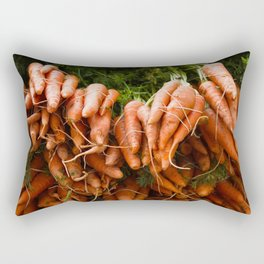 Carrots Straight Up Rectangular Pillow