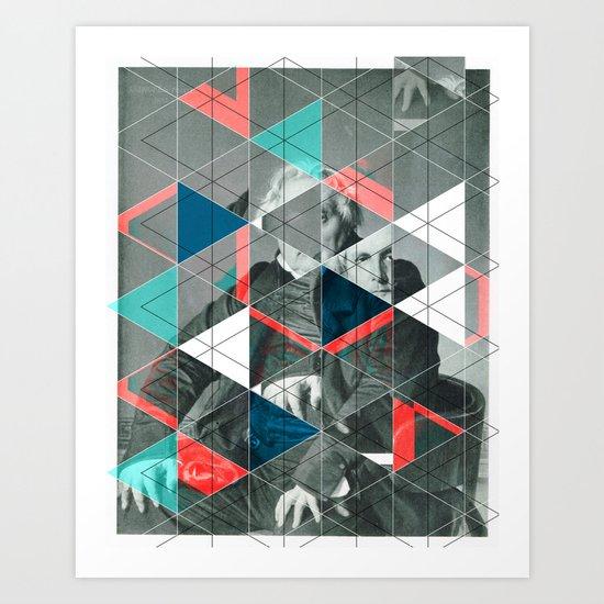 Gedanken Art Print