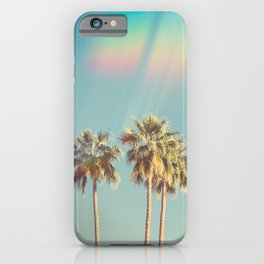 Groovy Palm Trees iPhone Case