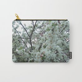 flower and light - White flower 5 Carry-All Pouch