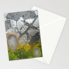 Ginkos in the Rain Stationery Cards