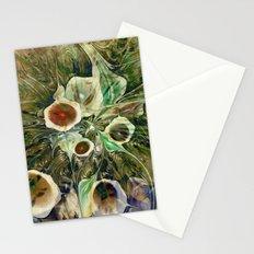 Fractal Bouquet - color variation Stationery Cards
