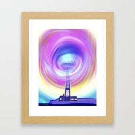 Atlante / LIGHTHOUSE Framed Art Print