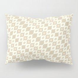 leaf diamond bamboo Pillow Sham