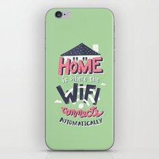 Home Wifi iPhone & iPod Skin