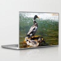 ducks Laptop & iPad Skins featuring Ducks by Siriusreno
