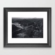 crossroads Framed Art Print