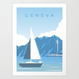 Geneva Art Print