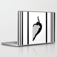 sia Laptop & iPad Skins featuring Harp by Kristijan D.