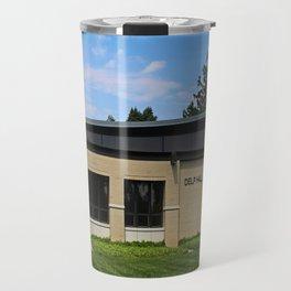 Lourdes University- Delp Hall Travel Mug