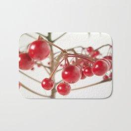 Scarlet Berry  Bath Mat