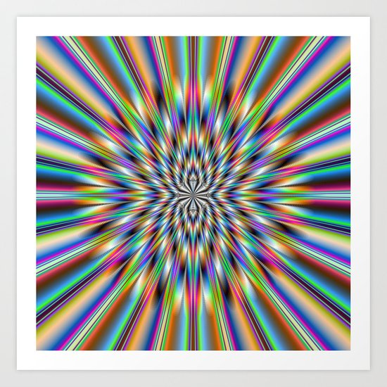 The Big Bang Art Print