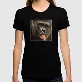 Smiling Gorilla (^_^) T-shirt