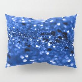Blue Lady Glitter #1 #shiny #decor #art #society6 Pillow Sham