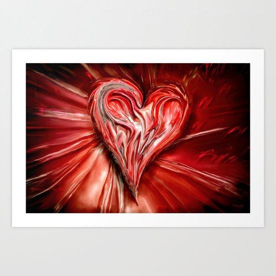 heartily Art Print