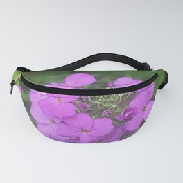 Pink Wildflowers Fanny Pack