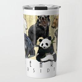 Bears of the World  - Ursidae Travel Mug