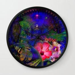 Keys to Paradise Wall Clock