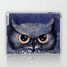 La Sagesse du Hibou (The Blue Owl) Laptop & iPad Skin