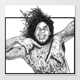Waka! Canvas Print