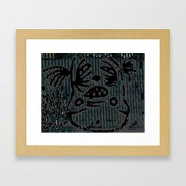 RTown Framed Art Print