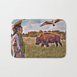 Native Lands Bath Mat