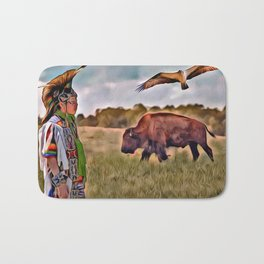 Native Lands Bath Mat