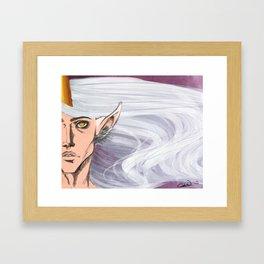 God of Magic Framed Art Print